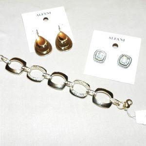 All NWT$79 MSRP!!! 3 Piece Alfani Jewelry Bundle